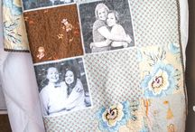 Quilt and photos