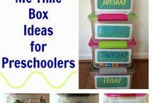 Preschool / Preschool should be fun! Focus on learning through books and play.