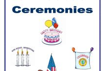 Ceremonies / by Calhoun and Talladega Girl Scouts