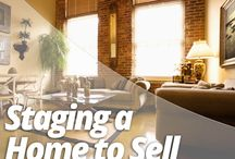 Staging your Home to Sell / A great place to get ideas on staging. You only get one chance to make a first impression on a home buyer
