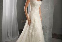 Bryllup, kjoler