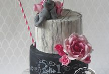 Chalkboard cakes / Inspiration