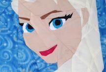 Frozen quilt ideas