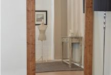 WOOD MIRRORS / Create a natural look with a solid Oak framed mirror available in various sizes and finishes from rustic to varnish. Standing the test of time, solid Oak brings an unassuming grandness to all outlooks, whether you choose to display it in a lounge, bedroom or entrance hall and landing.