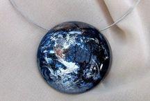 Resin jewellery / Artisan resin jewellery