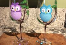 glasses decorations