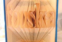 Folded Book Art by Fouska Creations / Bookfolding