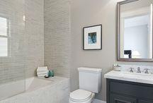 Family bathroom / Inspiration for the upstairs bathroom