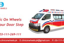 Clinic on wheels at your door step.