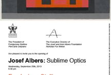 Milan / From 26 September 2013 to 6 January 2014, the Fondazione Stelline, in collaboration with the Josef and Anni Albers Foundation, hosted Milan's first ever monographic exhibition of the work of the great modernist and Bauhaus Artist, Josef Albers. Josef Albers. Sublime Optics