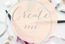 Create With Me / A DIY and craft group board for bloggers to share their amazing projects!! Follow me on Pinterest and e-mail lovecreatecelebrate@gmail.com if you are interested in joining :)