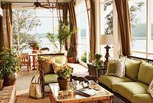 porches and decor