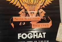 Foghat Tour Posters