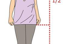 Выкройки расчеты в одежде
