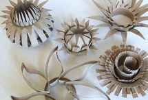 FLOWERS-DIY, PAPER, ART,etc. / by Nancy Monyhan