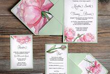 Wathercolor invitation
