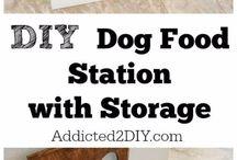 para la comida del perro