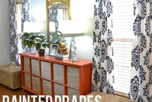 DIY drapes / by Jennifer Lutz