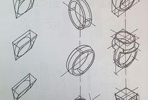 Рисунки колец