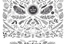 Graphic Elements and Inspiring Designs