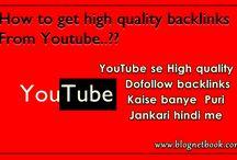 Youtube se dofollow backlinks kaise banye puri jankari hindi me