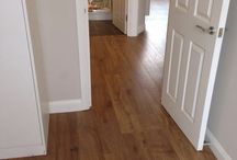 Study In Amtico / Client: Private Residence In East London Brief: To supply & install Amtico floor.