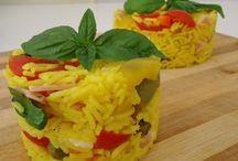 insalate di riso risotti  couscous  e timballi