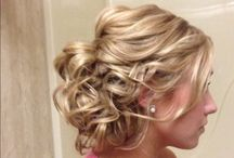 Bridesmaid hair / by Samantha Keyes
