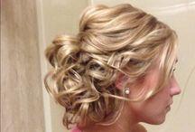 Bridesmaid hair / by Samantha Keyes
