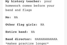 Color guard Things