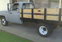 my old truck im restoring / by Barry Summers