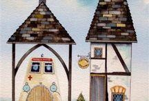 Illustrations watercolors