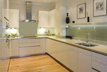 Kuchnia panel,szklany
