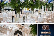 Colour inspiration: Blue / Wedding inspiration and ideas using the colour blue to style your wedding. First Light Photography, wedding photographer, Scotland.