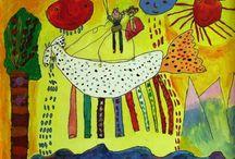 children ,s paintings