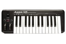 Keyboards and MIDI Controllers for Every Studio or Stage Rig / Are you recording with DAW software? Do you have virtual instrument plug-ins? The key to getting the most out of your software is a MIDI keyboard controller! Connect one of these versatile keyboards to your computer, and tap into a limitless library of sounds.