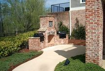 Outdoor Kitchens and Grills / A sampling of many of ARNOLD Masonry and Landscape's outdoor kitchen and grill projects throughout Metro Atlanta.