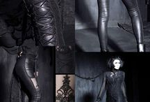 Scene 1: Disturbia / 'The Craft' Black ONLY. Think gothic, sensual, high fashion.