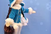 winter outfit doll