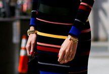 Estampas de Vestidos: Listras, Bolinhas, Xadrez, Quadrado, Retângulos... / Dresses Prints: Stripes, Polka Dots, Chess, Square, Rectangles ...
