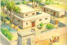 Egyptian, Greek, Indian and Similar Places and Architecture