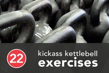 Fitness / Exercise tools and techniques to keep the workouts interesting. And kettlebells.