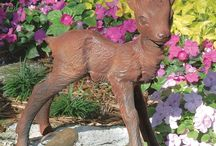 Garden Statues / Herons, a Mermaids, Rabbits, Deer...