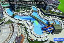 Crystal Palace Luxury Resort & Spa / Sıcak havaların son günlerini kaçırmak istemiyorsanız sizi Crystal Palace Luxury Resort & Spa'da muhteşem bir tatile bekliyoruz...