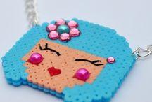 Pyssla - hama pearls / Patrones y diseños para utilizar estas piezas de manualidades