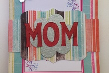 Mini album for Mom / Mini album cut with silhouette vie cutter. Embellished photos and inspirational quotes. Great little gift for Mothers Day.