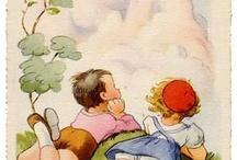 cartes anciennes enfants
