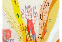 diplomas and colouring book