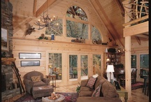 Living and Great Rooms / by Natural Element Homes