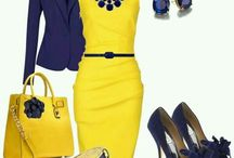 Yellow ♥ Navy